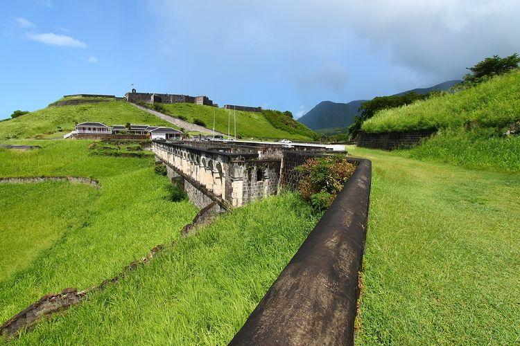 Unterkünfte Offiziere Brimstone Hill Fortress, St. Kitts