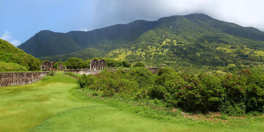 Brimstone Hill Fortress, Mount Liamuiga