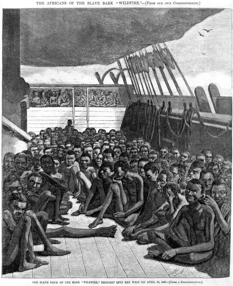 Befreite afrikanische Sklaven, Key West, Florida 1860