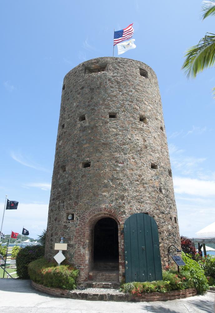 Wehrturm Skytsborg, U. S. Virgin Islands, Charlotte Amalie, Dänisch-Westindien