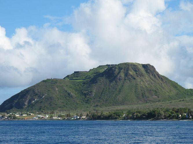 Britische Festung St. Kitts Brimstone Hill