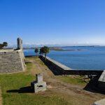 St. Augustine, Florida: Skelette unter Weinhandlung