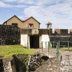 Fort Oranje auf der Antilleninsel Sint Eustatius