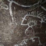 Indigene Höhlenmalereien auf der Isla de Mona