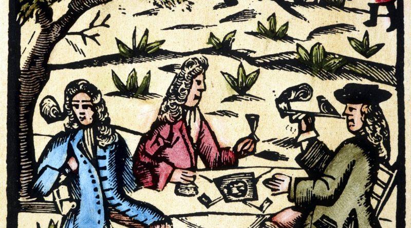 Tabakpflanzung Virginia, Sklaven