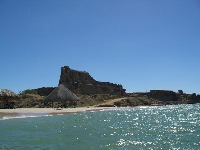Punta de Araya, Venezuela; spanisches Fort; fertiggestellt 1642
